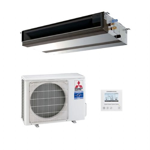 Mitsubishi Electric Air Conditioning PEAD-M35JA Ducted Concealed Inverter Heat Pump 3.5Kw/12000Btu R32 A+ 240V~50Hz